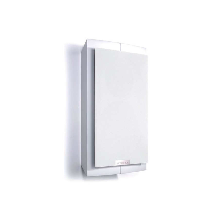 Atohm Furtive 1 1 Enceinte Murale Hifi 120w 6 Ohm Blanc Unit