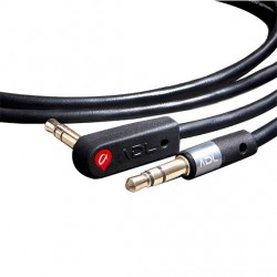 FURUTECH ADL iHP-35L Jack 3,5mm to Jack 3.5mm Elbow Cable Gold plated 1.3m