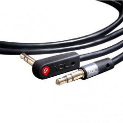 FURUTECH ADL iHP-35L Câble Jack 3,5mm vers Jack 3.5mm coudé plaqués Or 3m