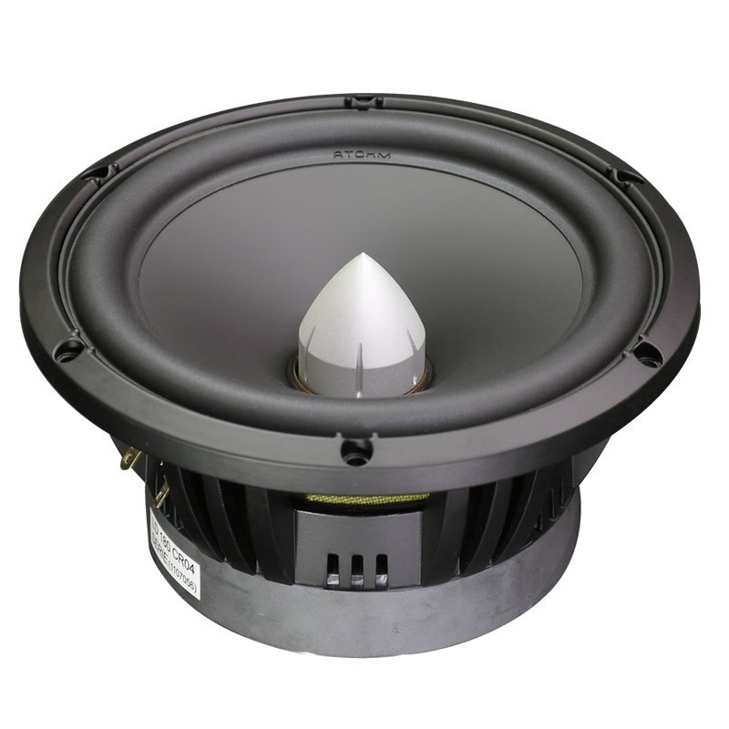 ATOHM LD180CR04 Speaker Driver Midbass 150W 4 Ohm 93dB Ø 18cm