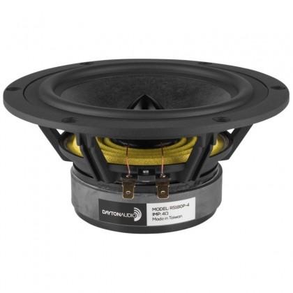 DAYTON AUDIO RS180P-4 Haut-parleur grave médium 90W / 4 Ohm Ø16cm