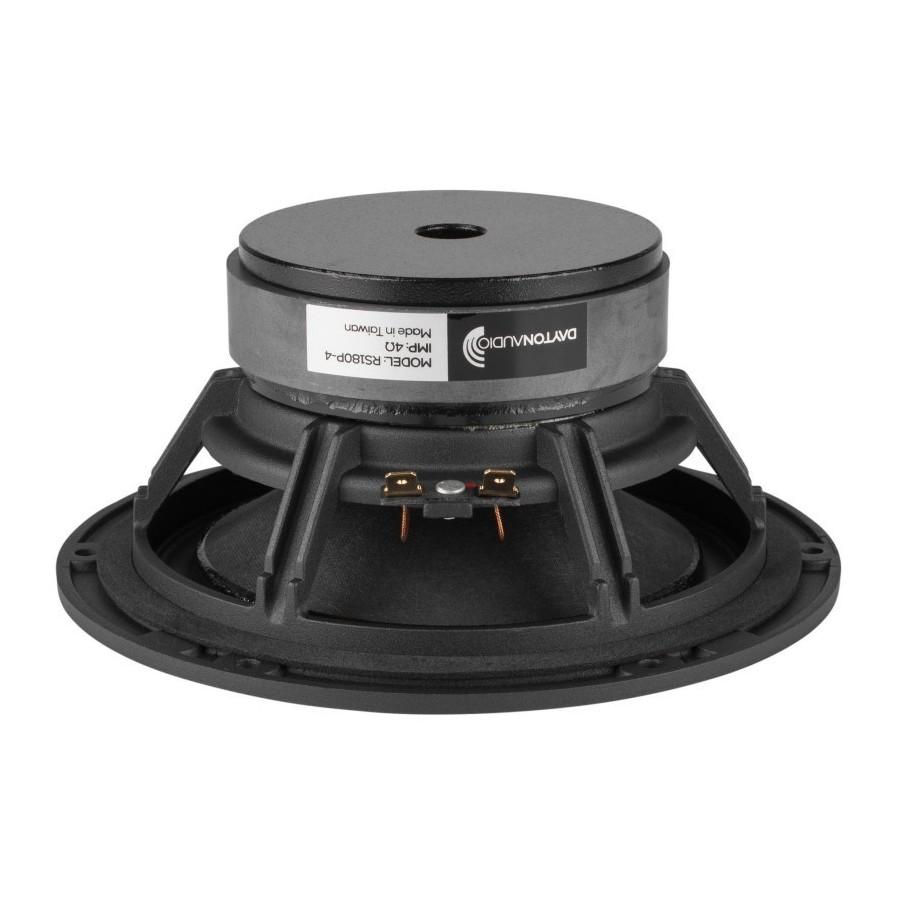 dayton audio rs180p 4 reference haut parleur bas m dium papier 60w 4 ohm 91db 35hz 8000hz. Black Bedroom Furniture Sets. Home Design Ideas