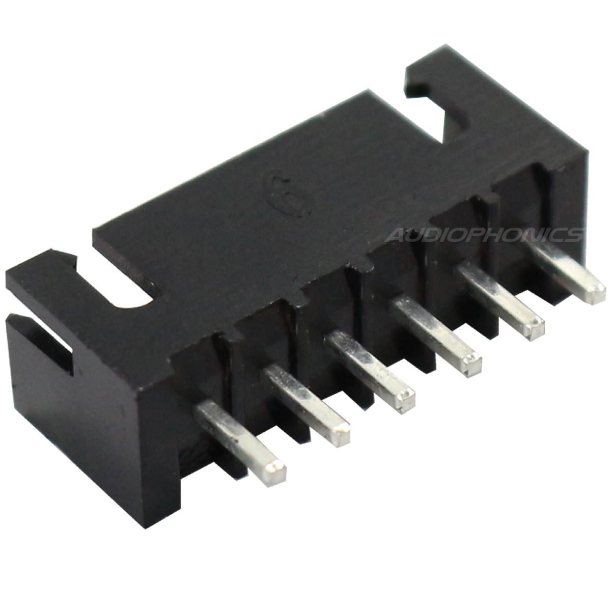 Connecteur XH male 6 voies XH-6/TJC3-6 noir (L'unité)