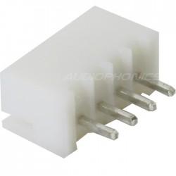 Connecteur Embase XH 2.54mm Mâle 4 Voies Blanc (Unité)