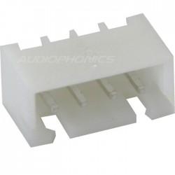 4 channels XHP male plug XHP-4 white (Unit)