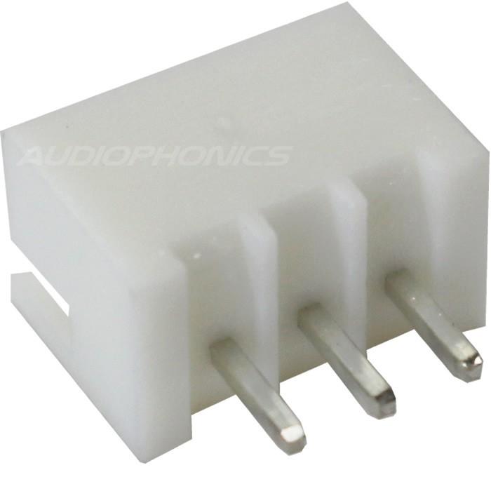 Connecteur embase XH mâle 3 voies XH-3 Blanc (Unité)