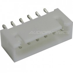 6 channels XHP male plug XHP-6 white (Unit)