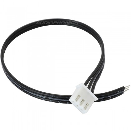 Cable JST XHP with connector 3 poles (unit)