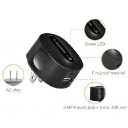 AVANTREE Roxa Plus Recepteur Audio Bluetooth 4.2 APT-X pour Prise secteur Murale
