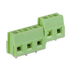 Isolated 2-Way Screw Terminal Block 5mm