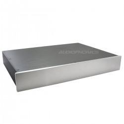 Boitier DIY 100% Aluminium 429x307x61mm Noir