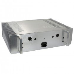 Boitier DIY 100% Aluminium 439x307x119mm Argent