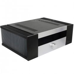 Boitier DIY 100% Aluminium pour Amplificateur Intégré 431x310x145mm