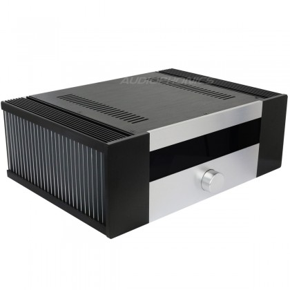 100% Aluminium DIY Box / case for integrated Amplifier 431x310x145mm