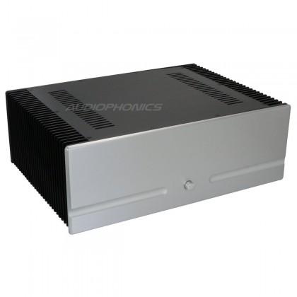 Boitier DIY 100% Aluminium pour DAC Amplificateur prépercé 430x310x153mm