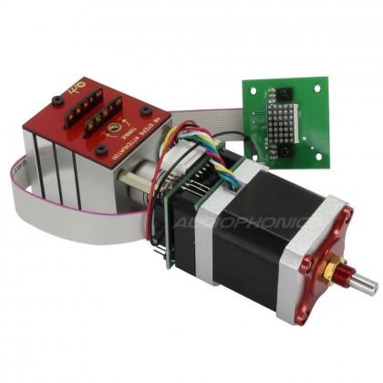 KHOZMO ACOUSTIC Kit motorized Shunt Stereo 48 positions CMS 10k 1%
