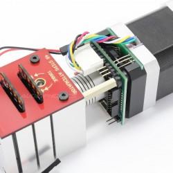 KHOZMO ACOUSTIC Kit Atténuateur motorisé Shunt Stéréo 48 positions CMS 10k 1%