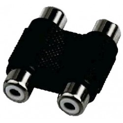 Female-Female Double RCA Adapter