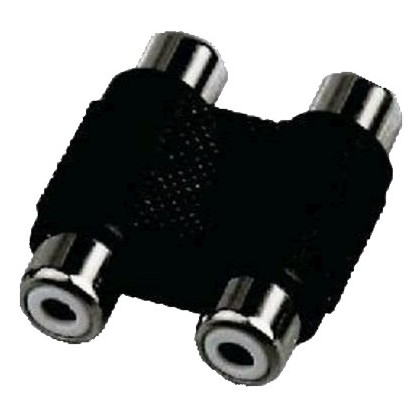 Adaptateur RCA Femelle-Femelle double
