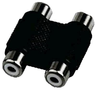 Dual Female RCA / Female RCA Adapter