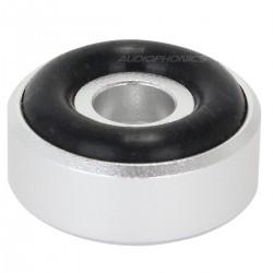 DYNAVOX Aluminium damping feet silver 20x10mm (Set x4)