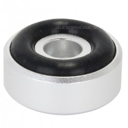 DYNAVOX Pieds Aluminium Brossé 20x10mm Argent (Set x4)