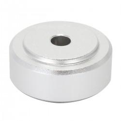 DYNAVOX Aluminium damping feet silver 50x21mm (Set x4)
