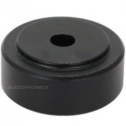 DYNAVOX Aluminium damping feet black 20x10mm (Set x4)
