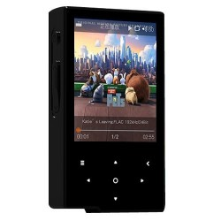 Hidizs AP60 Digital Audio Player HiFi DAC 24bit/192kHz DSD Black