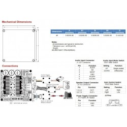SURE AA-BK31442 800W Class D Audio Amplifier T-AMP 2 Ohm