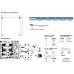 SURE AA-BK31442 Module Amplificateur Class D Mono 800W 2 Ohm