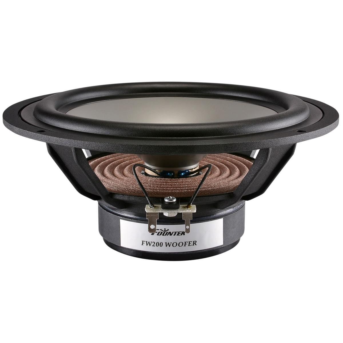 FOUNTEK FW200 Loudspeaker Woofer 8 Ohm Ø20cm