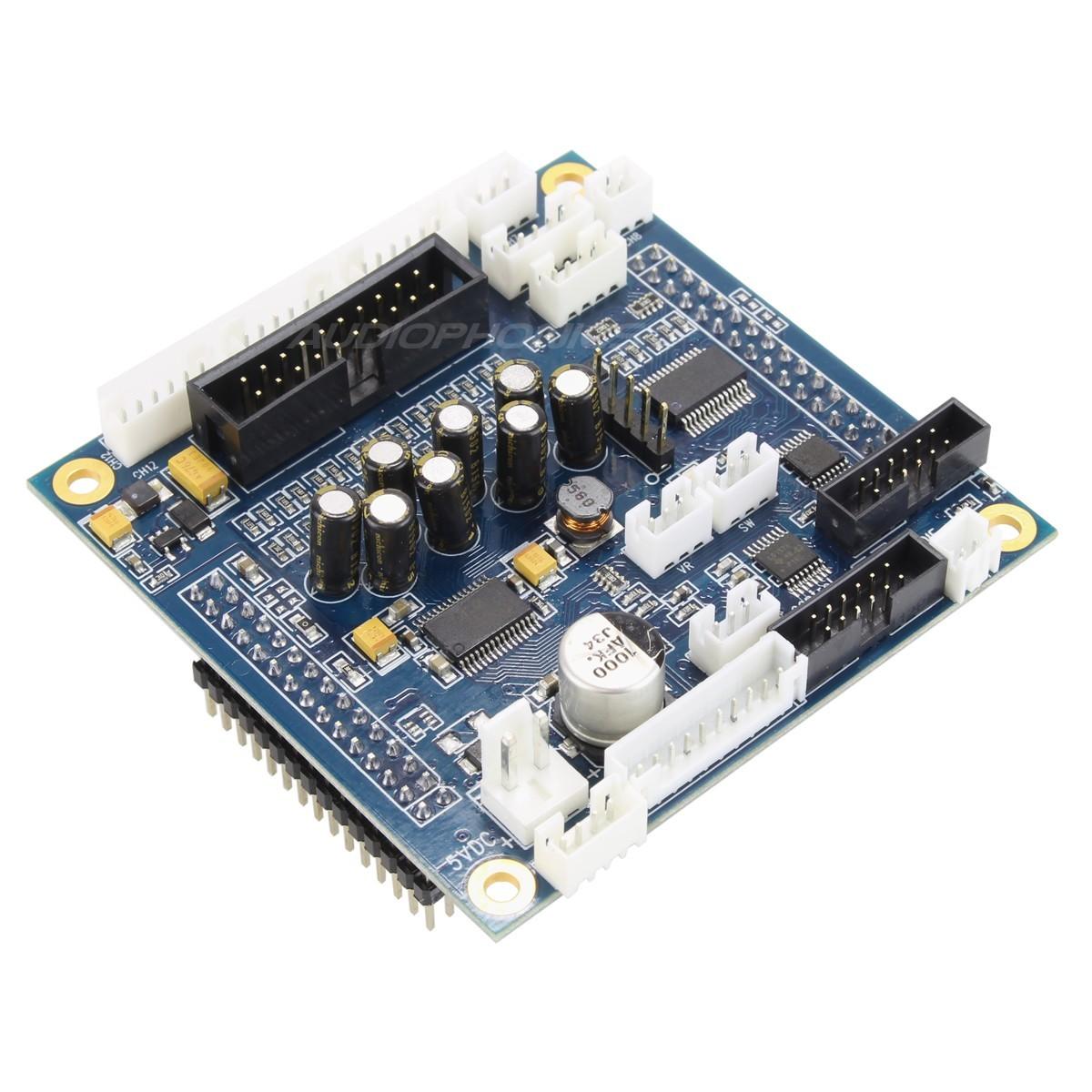 MiniDSP miniDAC8 Interface / DAC I2S 8 canaux 24bit AK4440 version miniSHARK