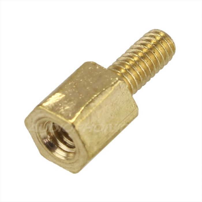 Brass Spacers Male / Female M2.5x8 + 6mm (x10)