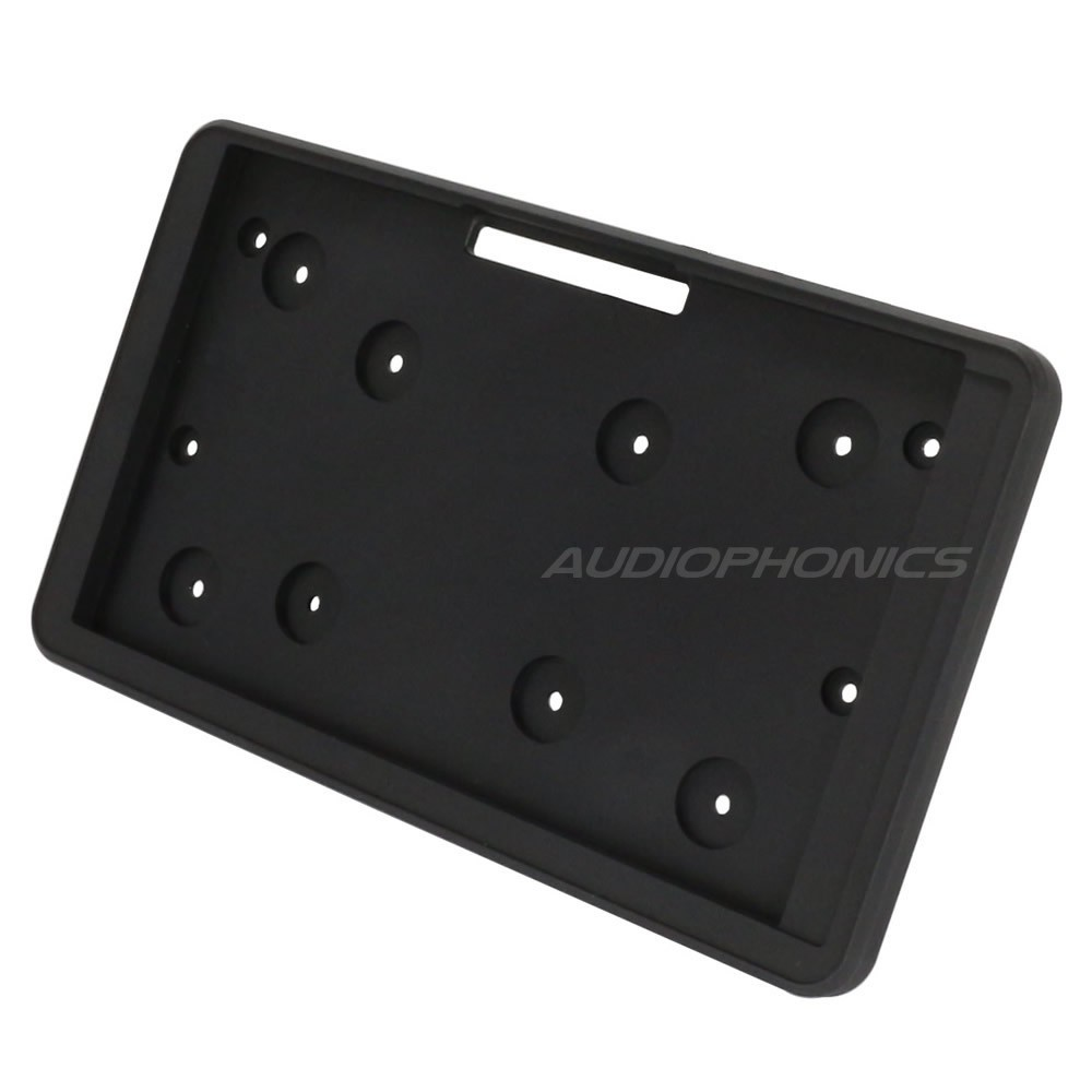 """Official screen support Raspberry Pi 7"""" Black"""