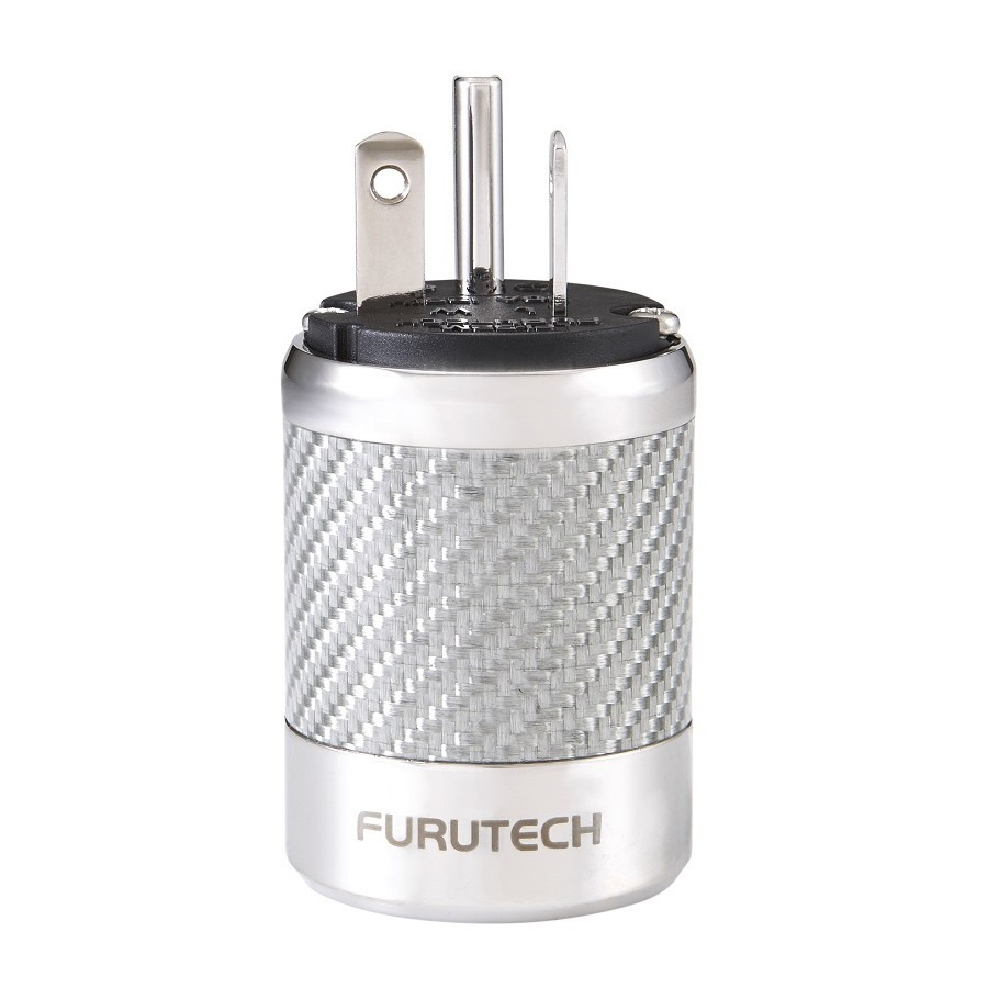 FURUTECH FI-52M NCF (R) Rhodium plated NEMA US Power plug Ø20mm