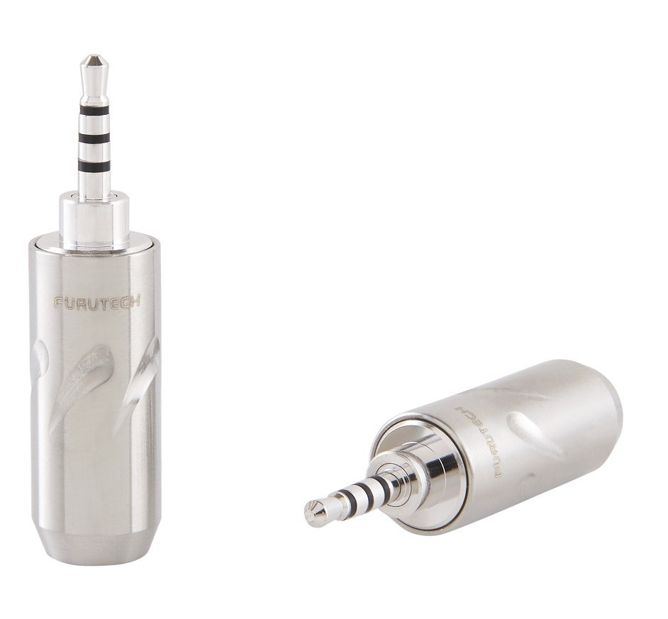 FURUTECH FT-7254 (R) Jack 2.5mm Rhodium plated Ø5mm (Unit)