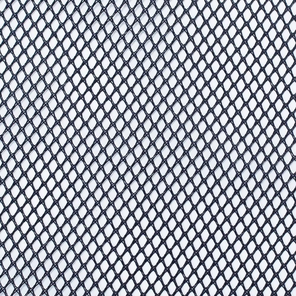 Tissu Acoustique à Mailles Larges pour Hauts-Parleurs 150x100cm Bleu Foncé