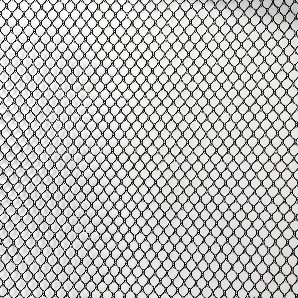 Acoustic Fabric Wide Mesh for Loudspeaker Grill 150x100cm Black