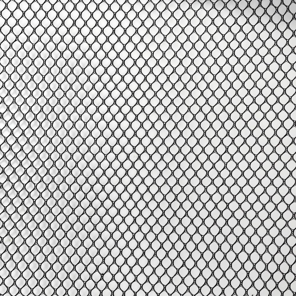 Tissu Acoustique à Mailles Larges Haut-Parleurs 150x100cm Noir