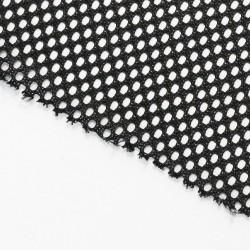 Tissu Acoustique à maille large Haute Qualité (noir) 150x100