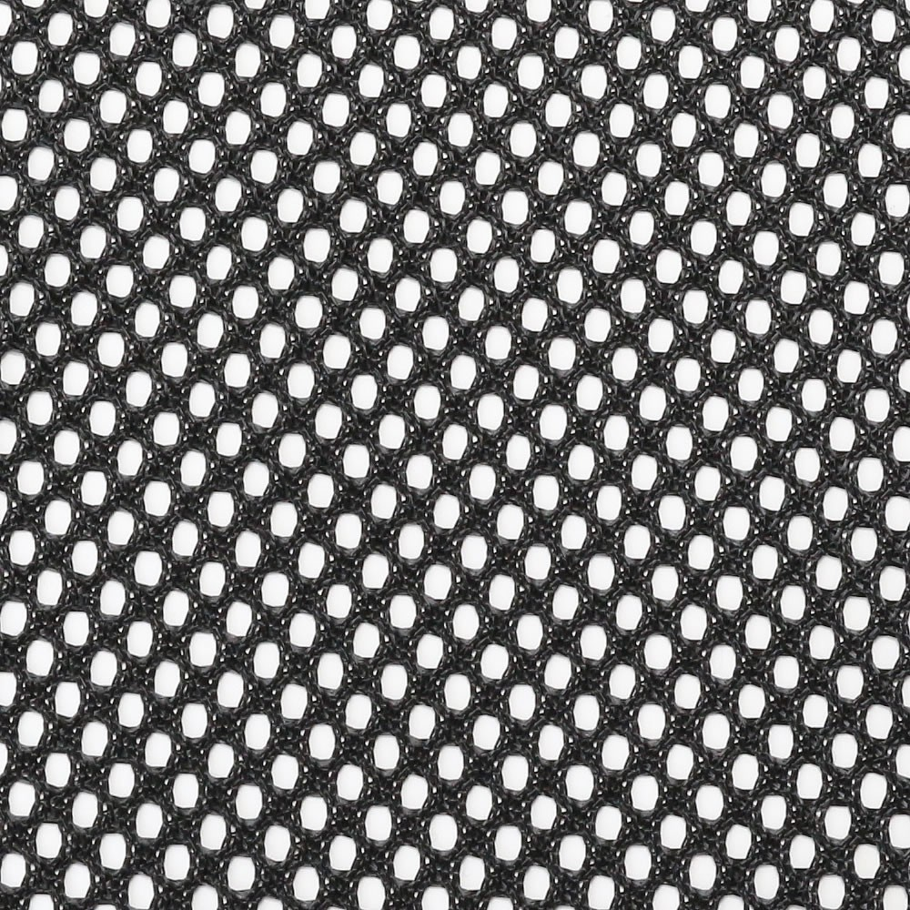 Acoustic fabric wide mesh grill cloth (Black) 150x100