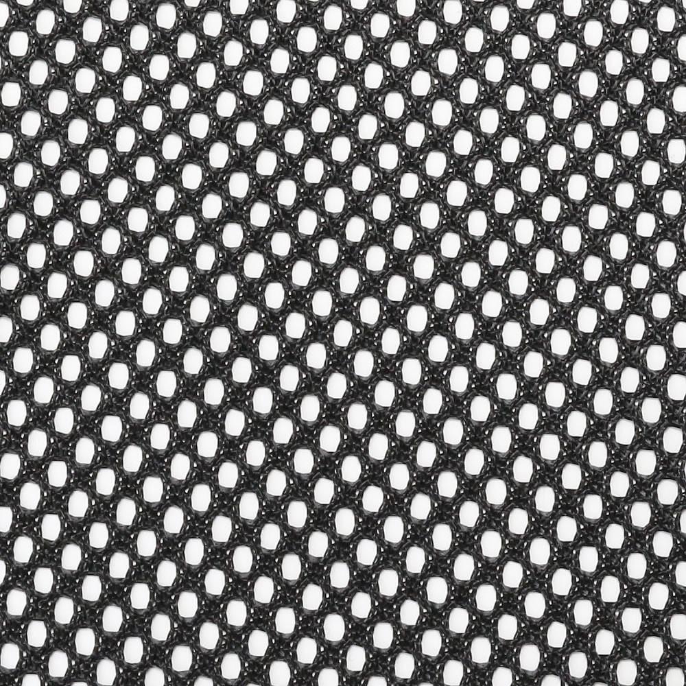 Tissu Acoustique à Mailles Larges pour Hauts-Parleurs 150x100cm Noir