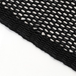 Acoustic fabric wide mesh 150x100 (Black)