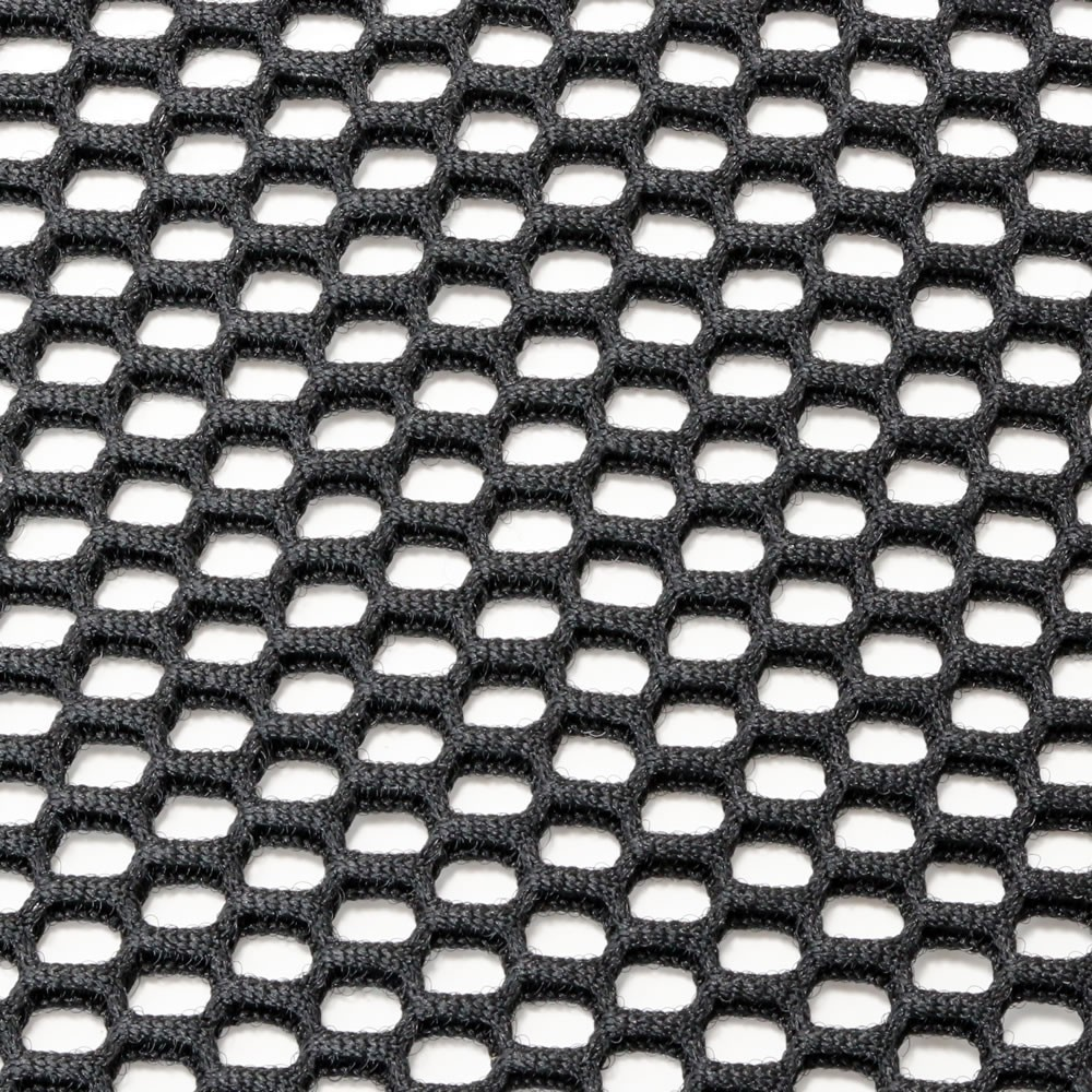 Acoustic double fabric wide mesh (Black) 150x100
