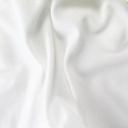 Tissu Acoustique pour Grilles Hauts-Parleurs 175x50cm Blanc