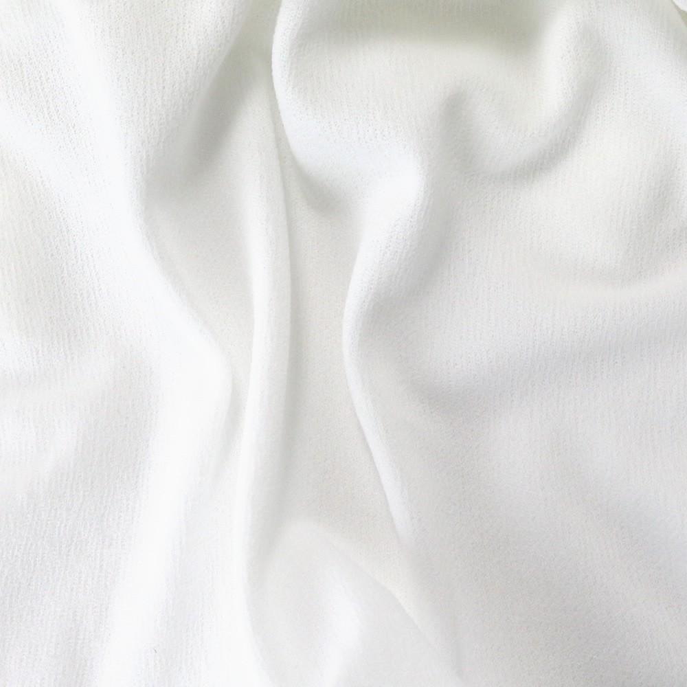 Tissu Acoustique pour Grilles Haut-Parleurs 175x50cm Blanc