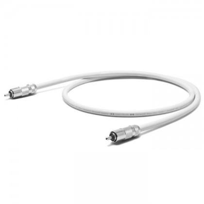OYAIDE DST-75R V2 Câble Coaxial RCA SPDIF 75 Ohm 102SSC Plaqué Rhodium 1m