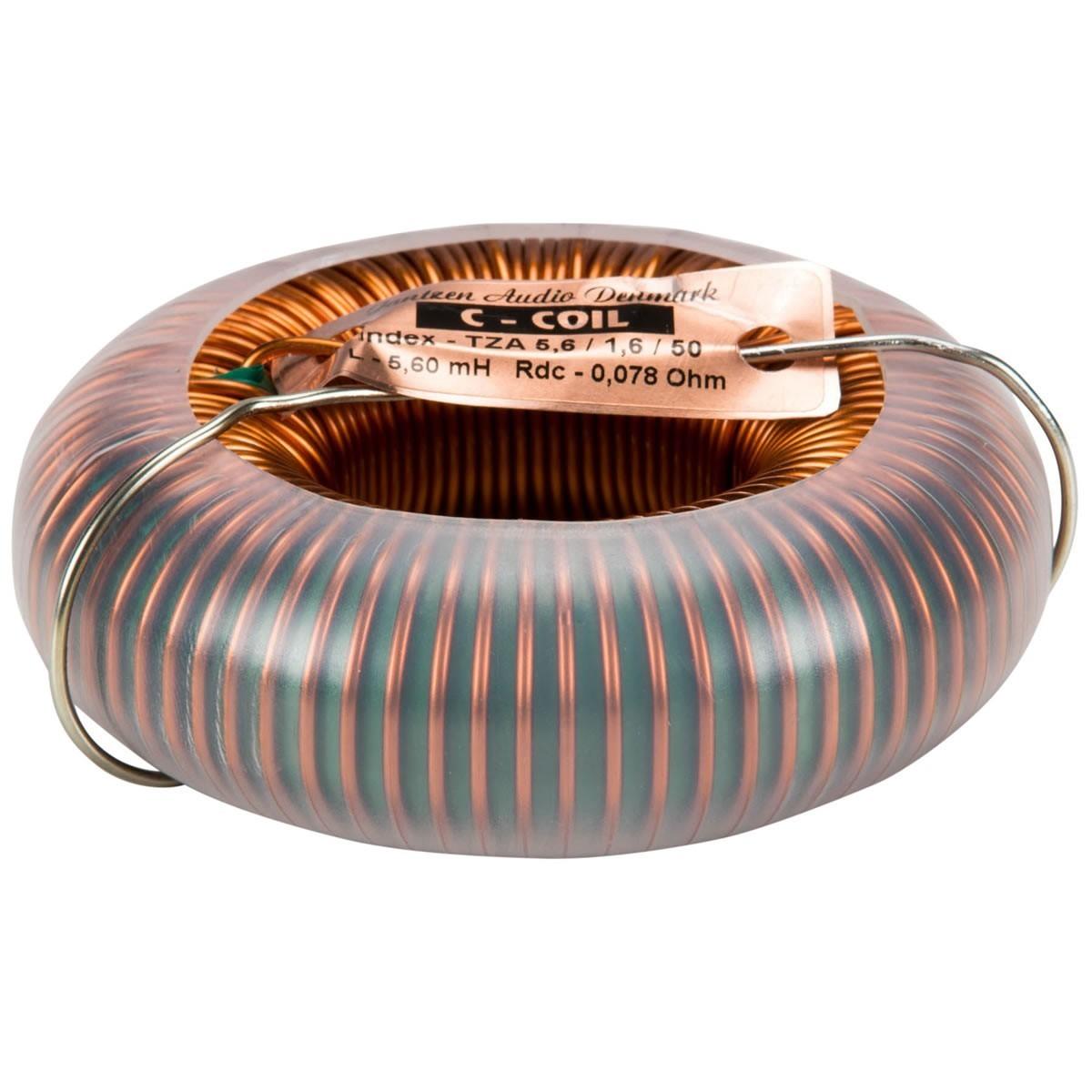 JANTZEN AUDIO C-COIL 4N Copper 15AWG Ø1.4mm 10mH 0.18 Ohm