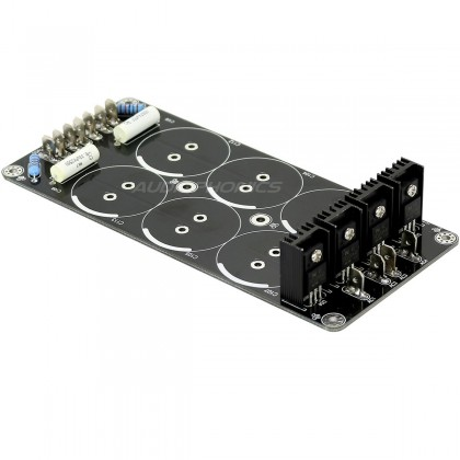 Linear Power Supply board 6 35mm Snap in locations